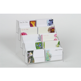 A4 COUNTER POSTER MENU HOLDER ACRYLIC PERSPEX LEAFLET RETAIL SHOP DISPLAY STAND