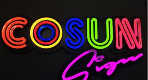 Imitation neon letter Sign1