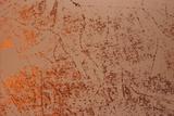 Handgearbeitete Tapete Blattmetalle