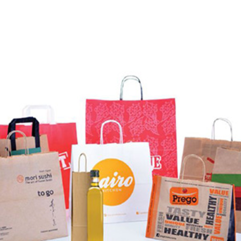 Fast Food & Restaurant paper bags