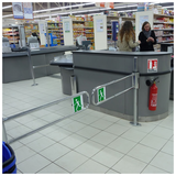 Checkout Counters, Entry & Exit Systems