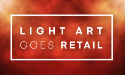 Light Art goes Retail