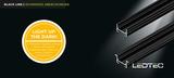 BLACKLINE - schwarze Profile von LEDTEC