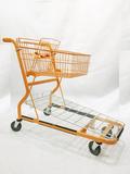 Color Plated Metal Material Handling Warehouse Cart