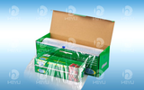 With sawtooth carton packaging cling film HY0201