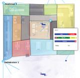 Heat maps and customer journey