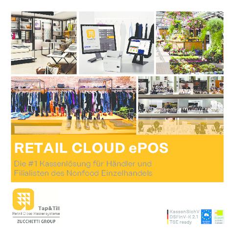 Retail Cloud ePOS Flyer