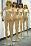 PE plastic mannequin