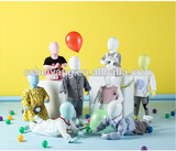 Kid abstract egg head baby mannequins