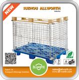 PALLET WIRE MESH CONTAINER