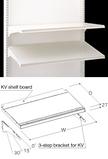 KV shelf board