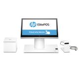HP Engage One Printer Scanner white